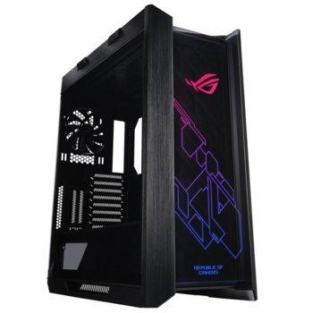 Кутия Asus ROG Strix Helios, ATX/micro ATX/Mini ITX/EATX, USB 3.1 Type C Gen 2, AURA SYNC RGB, черна, без захранване image