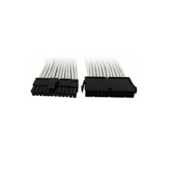 Захранващ кабел Gelid Solutions CA-24P-02, ATX 24pin(м)към 24pin(ж), 0.3m, сив image