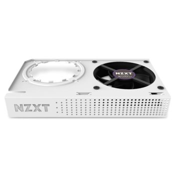 Охладител за видео карти NZXT Kraken G12, бял, съвместим с видеокарти от серията Kraken, Nvidia : Titan X, Titan, Geforce GTX 1080 Ti, 1080, 1070, 1060, 980 Ti, AMD : RX 480, 470, R9 390X image