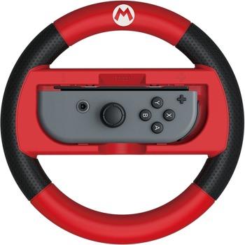 Волан Joy-Con Wheel HORI Super Mario Deluxe, за Nintendo Switch, червен image
