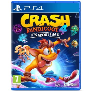 Crash Bandicoot 4: Its About Time PS4 product