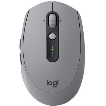 Мишка Logitech M590 Silent Mid grey tonal, оптична (1000 dpi), безжична, Bluetooth, сива image