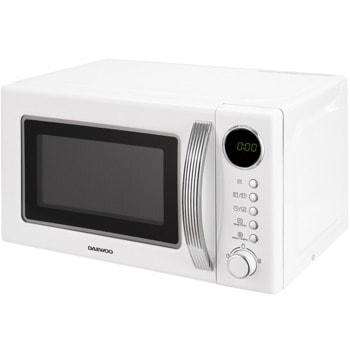 Микровълнова фурна Daewoo KOR-6S2BW-1, електронно управление, 800W, 20L обем, бяла image