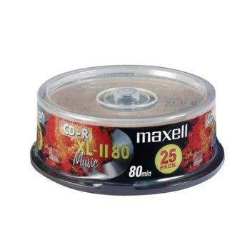 Оптичен носител CD-R madia 700MB, Maxell, 25 бр. image