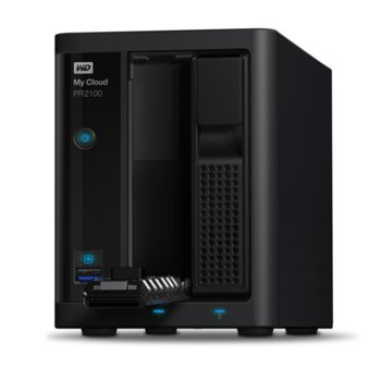 Western Digital MY CLOUD PR2100 WDBBCL0040JBK product