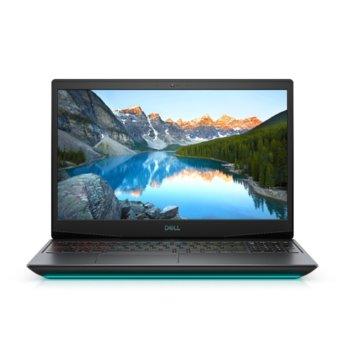 "Лаптоп Dell G5 15 5500 (5397184440087), шестядрен Comet Lake Intel Core i7-10750H 2.6/5.0 GHz, 15.6"" (39.62 cm) Full HD IPS 300nit 300Hz Display, (HDMI), 16GB DDR4, 1TB SSD, 1x Thunderbolt 3, Windows 10 Home  image"