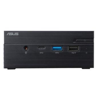 Настолен компютър ASUS Mini PC (PN40-J5005), четириядрен Gemini Lake Intel Pentium Silver Processor J5005 1.50/2.80 GHz, 4GB DDR4, 128GB SSD, USB-C 3.1 Gen 1, Free DOS image