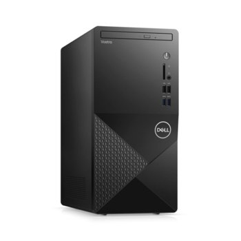 Настолен компютър Dell Vostro 3888 MT (N512VD3888EMEA01_2101), шестядрен Comet Lake Intel Core i5-10400 2.9/4.3 GHz, 8GB DDR4, 512GB SSD, 4x USB 3.1 Gen 1, клавиатура и мишка, Windows 10 Pro  image
