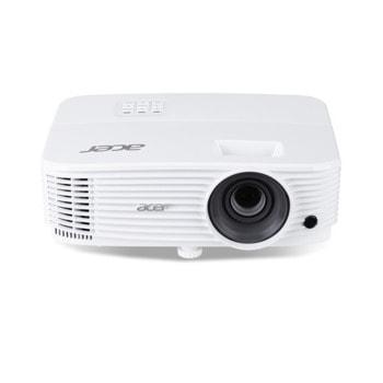 "Проектор Acer P1355W с подарък екран Acer T82-W01MW (82.5""), DLP, 3D, WXGA (1280x800), 20000:1, 4000lm, HDMI, VGA, USB, LAN image"