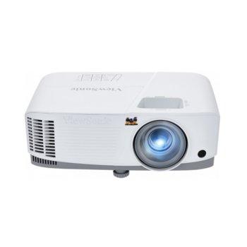 Проектор ViewSonic PG707W, DLP, WXGA (1280x800), 22000:1, 4000lm, HDMI, VGA, USB 2.0, LAN  image