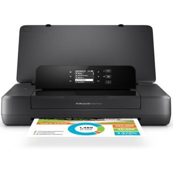 Мастиленоструен принтер HP OfficeJet 200 Mobile Printer, цветен, 10 стр/мин, 1200 x 1200 dpi, Wi-Fi, USB, A4 image