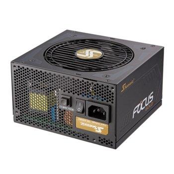 Захранване Seasonic Focus SSR-550FM Gold, 550 W, Active PFC, 80+ Gold, 120 mm вентилатор image