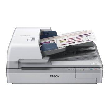 Скенер Epson WorkForce DS-60000, 600x600dpi, A3, двустранно сканиране, ADF, USB image