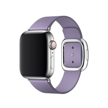 Каишка за смарт часовник Apple Watch (40mm) Lilac Modern Buckle - Medium (Seasonal Spring2019), лилав image