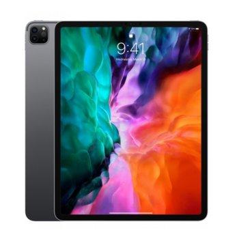 """Таблет Apple iPad Pro (4th Generation)(MY3C2HC/A)(сив), 4G/LTE, 12.9"""" (32.76 cm) Liquid Retina дисплей, осемядрен Apple A12Z Bionic, 6GB RAM, 128GB Flash памет, 12.0 + 10.0 MPix & 7.0 MPix камера, iPad OS, 643g image"""