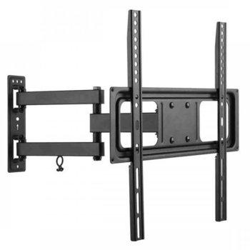 Стойка за телевизор SBOX PLB-3644, екран от 32 до 55 инча, VESA до 400Х 400, тегло до 35кг., черна image