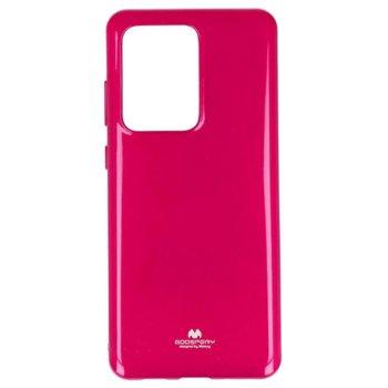 Калъф за Samsung Galaxy S20 Ultra, термополиуретанов, Mercury Goospery Jelly, розов image