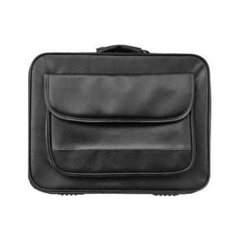 """Чанта за лаптоп 502, до 15.6"""" (39.62cm), полиестер. черен image"""