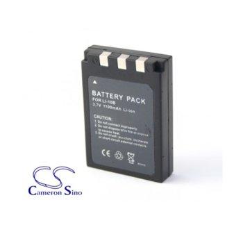 Батерия Cameron Sino за апарат OLYMPUS LI10B, Camedia C5000Z, iU10, X1, X2, Mju 300, 400, Sanyo DSC-J1, DSC-MZ3, VPC-AZ3EX, VPC-J1EX Xacti, VPC-J2EX, VPC-MZ3EX, LiIon 3.7V, 1100mAh  image