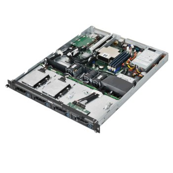 "Barebone Сървър Quanta Stratos S100-X1S1N, 4x DDR3L ECC UDIMM, 4x 3.5""/2.5"" HDD/SSD, 1U Rack, поддържа Intel Xeon E3-1200 v3, 3г. image"