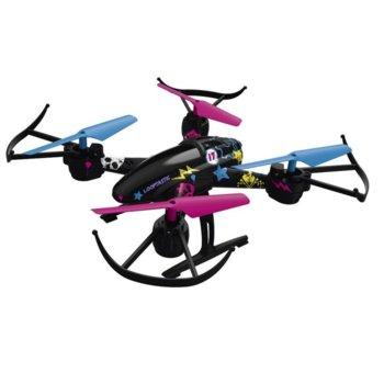 Дрон Hama Looptastic, 100м, до 10мин. летежно време, USB, 380mAh Li-Po батерия, LED подсветка, черен image