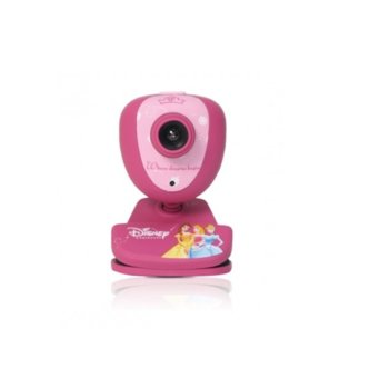 Уеб камера Circuit Planet Princess DSY-WC310, микрофон, 1.3 Mpix (1280 x 1024@30FPS), розова, USB 2.0 image
