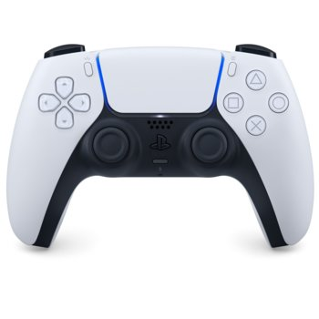 Геймпад Sony PlayStation DualSense, за PlayStation 5, Wireless, бял image