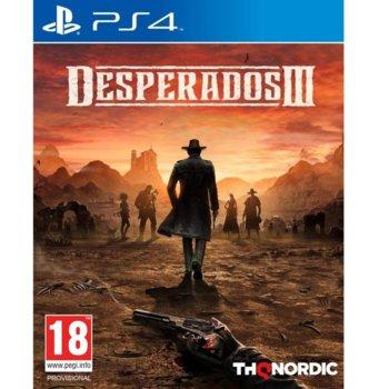 Игра за конзола Desperados III, за PS4 image