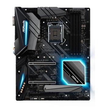 Дънна платка ASRock Z390 Extreme4, Z390, LGA1151, DDR4, PCI-Е (DP&HDMI), 6x SATA 6Gb/s, 2x M.2 socket, 1x USB 3.1 Type C Gen2, 5x USB 3.1, ATX, Polychrome RGB подсветка image