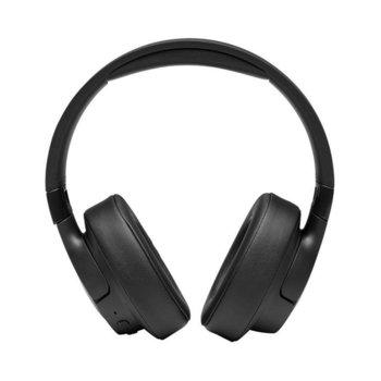 Слушалки JBL T750BT NC, безжични, Bluetooth, до 15 дни работа, черни image
