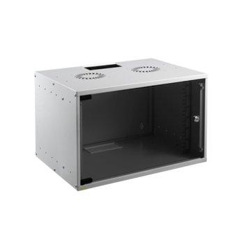 Комуникационен шкаф Mirsan MR.SOH09U40DE.02, 9U, 535 x 400x 440 mm, D=400 мм, бял image