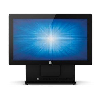 """Тъч компютър ELO E924675 ESY15E2-7UWD-1-ST-NB-4G-1S-P7-32-BK, 15.6""""(39.62 cm) резистивен сингъл-тъч дисплей, четириядрен Bay Trail Intel® Celeron® J1900 2.0/2.42GHz, 4GB DDR3L, 128GB SSD, 4x USB 2.0, Windows image"""