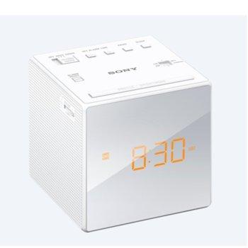 Радио портативно Sony ICF-C1, FM/AM, бяло image