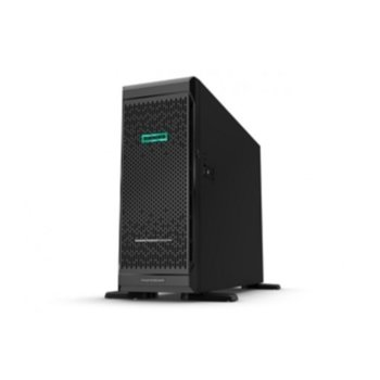Сървър HPE ML350 G10 (P11050-421), осемядрен Intel® Xeon 4208 2.1/3.2 GHz, 16GB RDIMM DDR4, 4x Gigabit Ethernet, DisplayPort, 3x USB 3.0, без ОС, 500W image