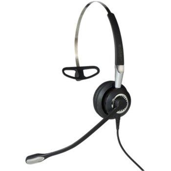 Слушалкa Jabra BIZ 2400 II Mono, безжичнa, Bluetooth/QD жак, микрофон, черна image