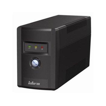 UPS Inform Guardian 1500AP, 1500VA, IP20 защита, USB, Line Interactive, miniTower image