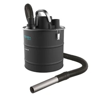 Прахосмукачка Cecotec Conga PopStar 10180 Ash, за пепел и едри отпадъци, 1000W, 18л капацитет на резервоара, технология Filtering Pro филтриране в две фази, черна image