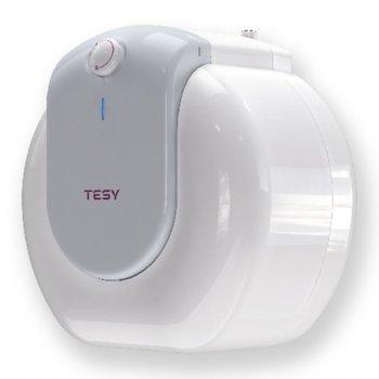 Електрически бойлер Tesy GCU 1520 L52 RC, 15л., вертикален, 2 kW, стъклокерамичен, енергиен клас B, 37.7 x 39.9 x 30.4 cm image