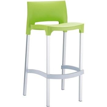 Бар стол RFG Joy, пластмасов, светлозелен image