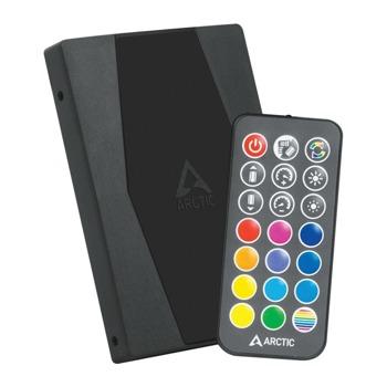 Контролер за вентилатори ARCTIC A-RGB, 2x 8-pin конектори, черен image