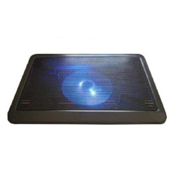 "Охлаждаща поставка за лаптоп DeepCool N19, за лаптопи до 14"" (35.56 cm), 1xUSB, черна image"