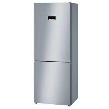 Хладилник с фризер Bosch KGN46XL30, клас E, 366 л. обем, свободностоящ, 182 kWh/годишно, No Frost, инокс image