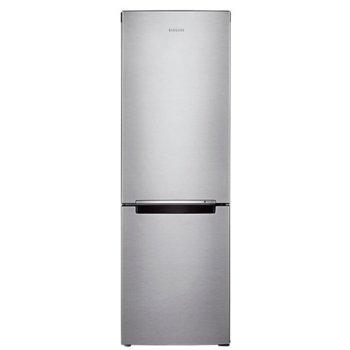 Хладилник с фризер Samsung RB33J3030SA/EO, клас F, 350л. общ обем, свободностоящ, 280 kWh/годишно разход на енергия, EasySlide, LED осветление, Full No Frost, сив image