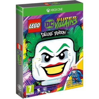 Игра за конзола LEGO DC Super-Villains Deluxe Edition, за Xbox One image