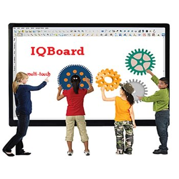 "Интерактивна дъска IQ Board DVTQK TN092JSXKWM, 92"" (233.68) Multi-touch, 4:3, Digital vision touch technology, без писалка, USB image"
