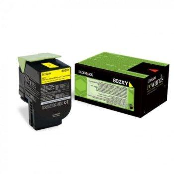 Касета за Lexmark CX510de / CX510de Statoil / CX510dhe / CX510dthe - Yellow - P№ 80C2XY0 - 4 000K image