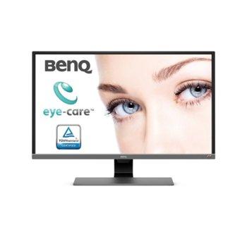 """Монитор BenQ EW3270UE (9H.LGVLA.FSE), 31.5"""" (80.01 cm) VA панел, Ultra HD, 4ms, 20000000:1, 300cd/m2, DisplayPort, HDMI, USB Type-C image"""