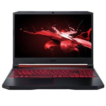 "Лаптоп Acer Nitro 5 AN515-54-54WF (NH.Q59EX.03A), четириярен Coffee Lake Intel Core i5-9300H 2.4/4.1 GHz, 15.6"" (39.62 cm) Full HD IPS Anti-Glare Display & GTX 1650 4GB, (HDMI), 8GB DDR4, 1TB HDD, 1x USB Type-C, Linux, 2.30 kg image"