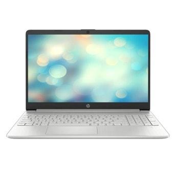 "Лаптоп HP 15s-eq2011nu (43R58EA)(сребрист), шестядрен AMD Ryzen 5 5500U 2.1/4.0GHz, 15.6"" (39.62 cm) Full HD IPS Anti-Glare Display, (HDMI), 8GB DDR4, 512GB SSD, 1x Type-C, No OS  image"