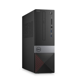 Настолен компютър Dell Vostro 3471 SFF (N214VD3471EMEA01_R2005_22NM_UBU), шестядрен Coffee Lake Intel Core i5-9400 2.9/4.1 GHz, 4GB DDR4, 1TB HDD, 2x USB 3.1, клавиатура и мишка, Linux image